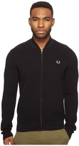 Fred Perry Bomber Neck Zip Thru Cardigan