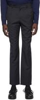 A.P.C. Navy Dorian Pinstripe Trousers