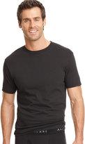 Alfani Men's Underwear, Big & Tall Tagless Crew Neck T Shirt 2 Pack
