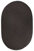 Smyth Hand-Braided Light Brown Indoor/Outdoor Area Rug August Grove Rug Size: Oval 3' x 5'