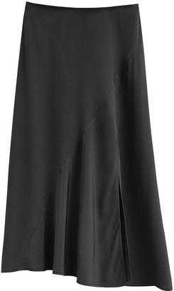 Silk Asymmetrical Skirt
