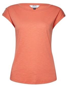 Dorothy Perkins Womens Dp Petite Coral Organic Cotton Button T