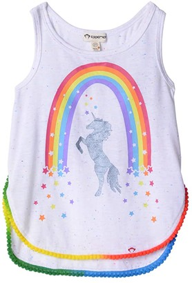Appaman Kids Morgan Tank - Stardust Prism (Toddler/Little Kids/Big Kids) (Speckled White) Girl's Clothing