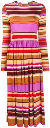 Stine Goya Joel striped jersey dress
