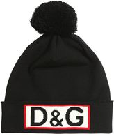 Dolce & Gabbana Doubled Knitted Virgin Wool Hat