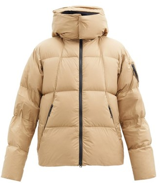 Goldwin Spur Hooded Down-filled Shell Jacket - Beige
