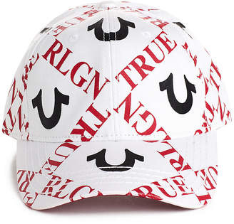 True Religion HORSESHOE TILE BASEBALL CAP