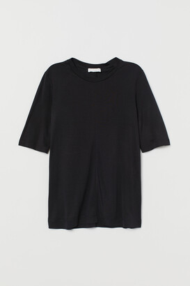 H&M Silk Jersey T-shirt