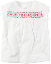 Carter's Cotton Graphic-Print T-Shirt, Little Girls (2-6X) & Big Girls (7-16)