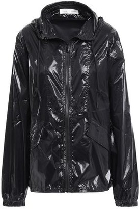 Proenza Schouler Pswl Glossed-shell Hooded Jacket