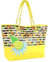 Betsey Johnson Juicy Fruity Tote (Yellow) - Bags and Luggage