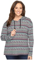 Roper Plus Size 0528 Printed Brushed Twill Jersey
