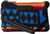 Pendleton Three Pocket Keeper Clutch Handbags