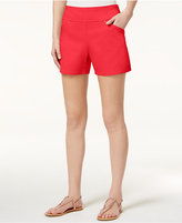 INC International Concepts Pull-On Curvy-Fit Shorts, Only at Macy's