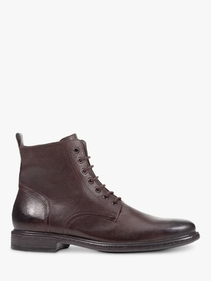 Geox Terence D Leather Lace Up Boots