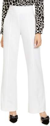 INC International Concepts High-Waist Wide-Leg Trousers