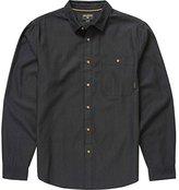Billabong Men's Sea Canvas X Long Woven Short Sleeve Shirt