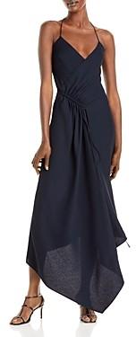 Cushnie Asymmetric Hem Dress