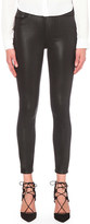 Paige Margot coated skinny mid-rise jeans