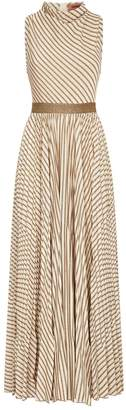 Missoni Metallic Stripe Maxi Dress