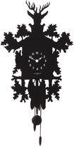 Diamantini Domeniconi Cucu Small Wall Clock Black