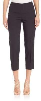 Piazza Sempione Women's Shauntung Silk Audrey Pants - Black - Size 38 (2)