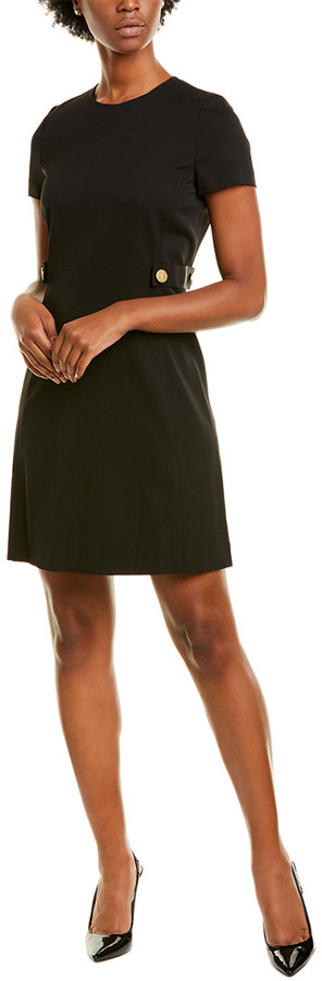 Escada Sport Dyheartan Wool-Blend A-Line Dress