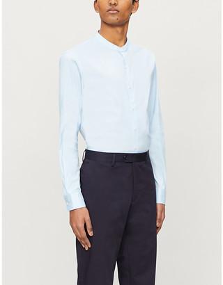 Sandro Slim-fit cotton-blend shirt