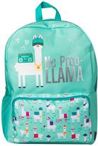 Fashion Angels Turquoise 'No Prob Llama' Backpack