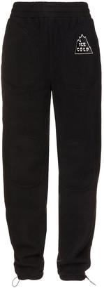 Twenty Montreal Appliqued Fleece Track Pants