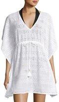 Tommy Bahama Short Crocheted Coverup, White