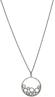 Rivka Friedman Signature Collection 14K & Silver 1.85 Ct. Tw. Champagne Diamond 37In Necklace