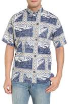 Reyn Spooner Molokai to Oahu Button Down Polo