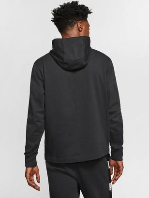 Nike Club Hoodie - Black/White