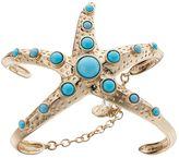 Dana Buchman Simulated Turquoise Starfish Cuff Bracelet