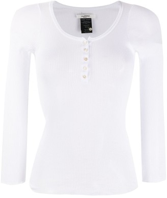Etoile Isabel Marant Ribbed Jersey Top