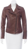 Sylvie Schimmel Asymmetrical Leather Jacket