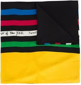 Saint Laurent Metropolitan Museum commemorative scarf