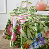 "Crate & Barrel Bloom 60"" Round Tablecloth"