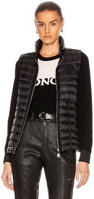 Moncler Azur Gilet Vest in Black | FWRD