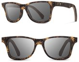Shwood Men's Canby 55Mm Polarized Pine Cone & Wood Sunglasses - Pinecone/ Grey