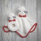 Baby Essentials Plush Pair Lovey & Rattle (Sheep)