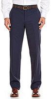 Hart Schaffner Marx Tailored Flat-Front New York Dress Pants