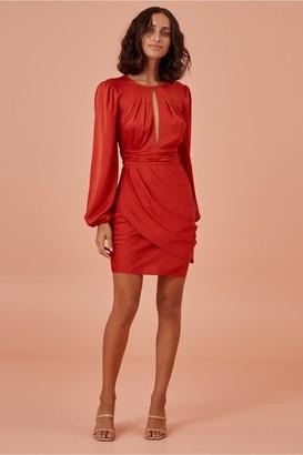 Finders Keepers GABRIELLA MINI DRESS red
