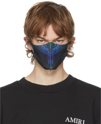 Marcelo Burlon County of Milan Three-Pack Black Active Face Masks