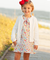 White Cardigan - Toddler & Girls
