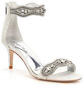Antonio Melani Sadina Fabric Rhinestone Detailed Dress Sandals