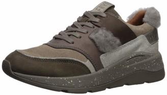 Frye Women's Willow Low Lace Sneaker Grey 6.5 M M US