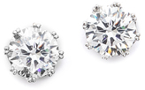 Kenneth Jay Lane Round CZ Stud Earrings