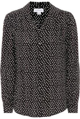Velvet Ardelle polka-dot blouse